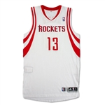 James Harden Photo Matched 2014-15 Houston Rockets Game Worn & Signed Jersey - 2 Games! (RGU/PM&G 10 LOA)