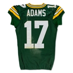 Davante Adams Photo Matched 11/6/2017 Green Bay Packers Game Worn Home Jersey (NFL Auctions)