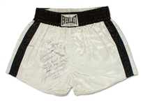 Muhammad Ali Professional Model Everlast Boxing Trunks - Clubhouse/Secretarial Signature & Inscription (Craig Hamilton LOA)