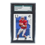 Tom Brady GEM MINT 2000 SP Authentic #118 Rookie Card - Graded SGC 98 Gem Mint 10